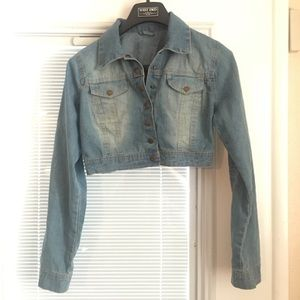 Jean jacket (Crop Top)